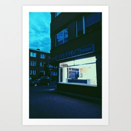 Hopper in Berchem Art Print