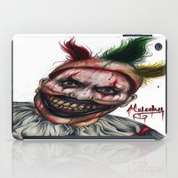 ahs iPad Cases featuring Twisty-AHS No.2 by MELCHOMM