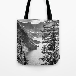Forest Lake Retreat - Crater Lake Tote Bag