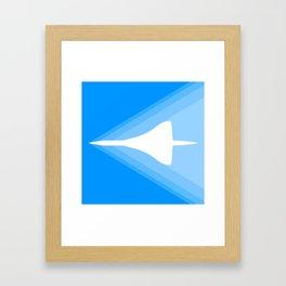 Concorde Shockwave Framed Art Print