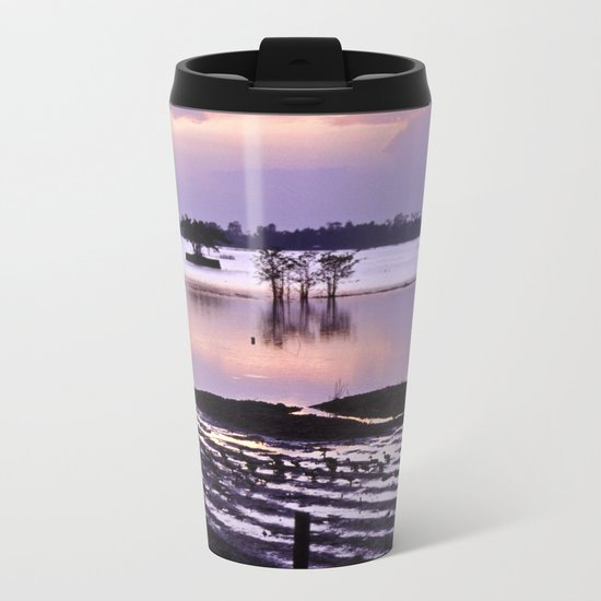 MEKONGDELTA in VIETNAM Metal Travel Mug