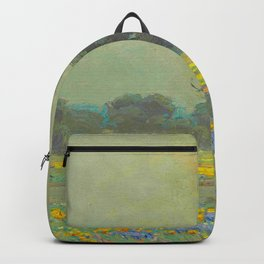 Granville Redmond (1871-1935) Landscape Flower Field Backpack