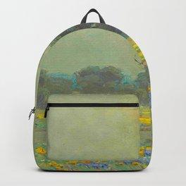 Granville Redmond (1871-1935) Landscape Flower Field Backpack