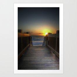 Grandview Sunset Art Print