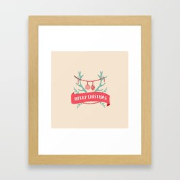 Cristmas joy Framed Art Print