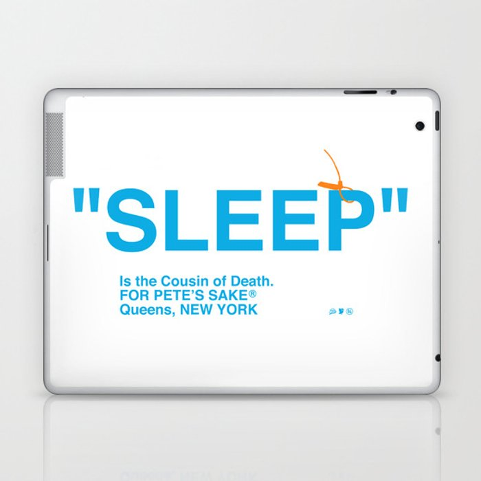 """SLEEP"" Laptop & iPad Skin"