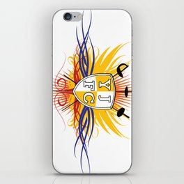Yellow Jacket Fencing Club Classic iPhone Skin