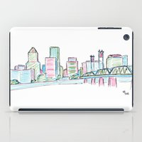 portland iPad Cases featuring Portland by Ursula Rodgers