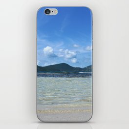 Down at Wave Level iPhone Skin