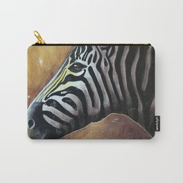 Zebra - Alfred the Traveler - by LiliFlore Carry-All Pouch