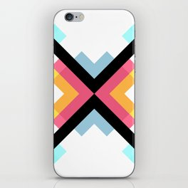 Abstract Retro Pattern 05 iPhone Skin