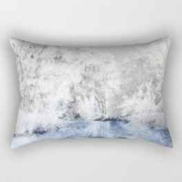 Frozen Beauty Rectangular Pillow