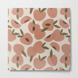 Peach Bowl Metal Print