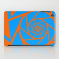 aperture iPad Cases featuring Aperture Vector by Alli Vanes