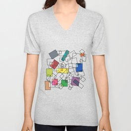 Colors in the Mix Unisex V-Neck