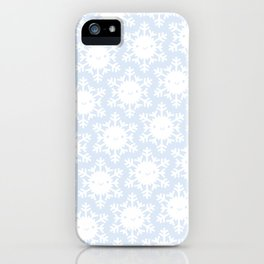 Kawaii Winter Snowflakes iPhone Case