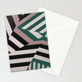 ASDIC/SONAR Dazzle Camouflage Graphic Design Stationery Cards