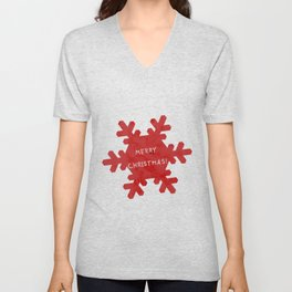 Merry Christmas Unisex V-Neck