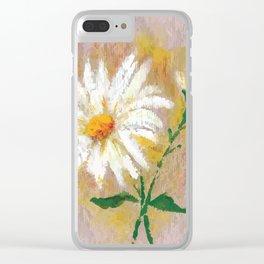 Flor VII (Flower VII) Clear iPhone Case