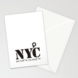 NYC / New York City (Never Get Lost) Stationery Cards