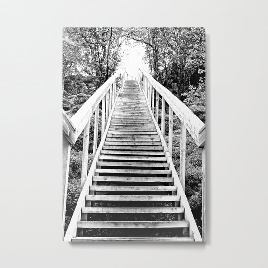 Only Way is Up Metal Print