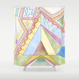 PowerLines 25 Shower Curtain