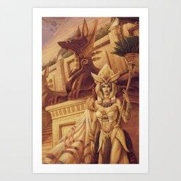 Egyptian Queen by Baxa Art Print