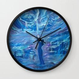 Quantum Awakening Wall Clock