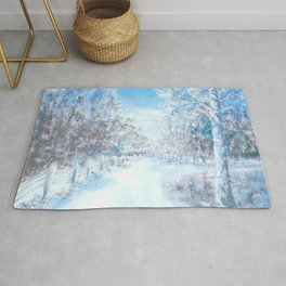 Winter Road Rug