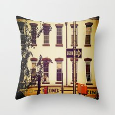 Postcard to Mom, From New York Throw Pillow
