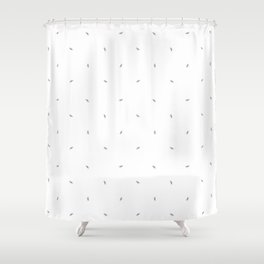 Dragonfly Pattern Shower Curtain