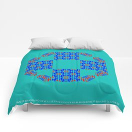"CA Fantasy ""For Tiffany color"" series #7 Comforters"