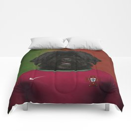 Worldcup 2014 : Portugal - Portuguese Water Dog Comforters