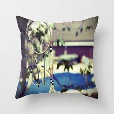 Dreamcatcher Charms Throw Pillow