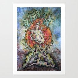Äiti Art Print