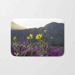 Wildflower Sunset Bath Mat