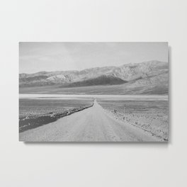 ON THE ROAD XIII (B+W) Metal Print