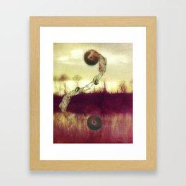 Balancing Framed Art Print