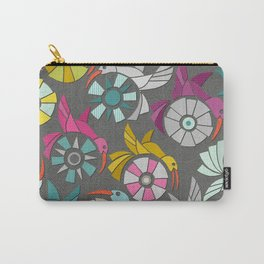 paper sunbirds graphite Carry-All Pouch