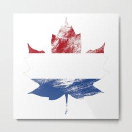 Netherlands/Canada Metal Print
