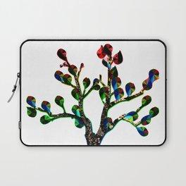 Bare Leafy Rainbow Tree Laptop Sleeve