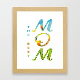 Mother's Day Gift Framed Art Print