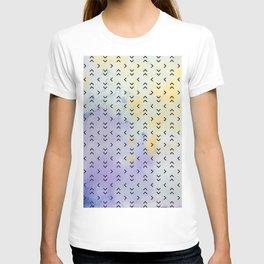 Watercolor Arrow Pattern T-shirt