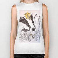 badger Biker Tanks featuring Badger by Meredith Sweeney