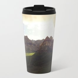 Shining lights at Red Rock Canyon Travel Mug