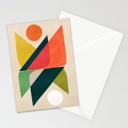 Reflection (of time and space) Stationery Cards