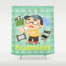 Filmmaker Shower Curtain