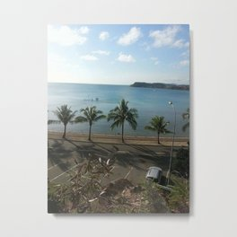 A beach in Noumea Metal Print
