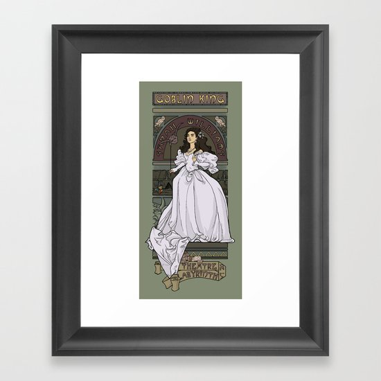 Theatre de la Labyrinth Framed Art Print