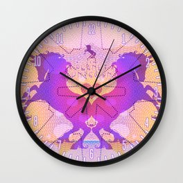 PLANET UNICORN Wall Clock